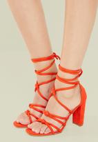 Superbalist - Zen strappy heel - orange