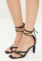 Superbalist - Willow heel - black