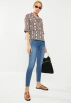 Cotton On - Classic mid rise jegging - blue