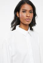 edit Maternity - Boxy fit shirt - white