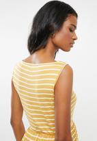 edit Maternity - Maternity maxi dress - yellow & white