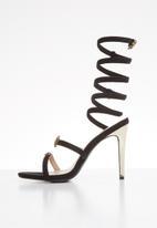 Miss Black - Farrah heel - black