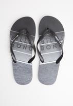 Billabong  - Northpoint thong - black & grey