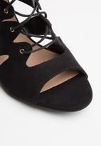 New Look - Tillie wider fit heel - black