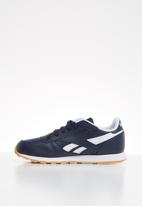 Reebok Classic - Classic leather - collegiate navy/white/gum