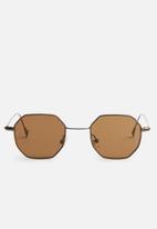 Superbalist - Octagon sunglasses - brown