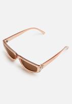 Superbalist - Valentina sunglasses - peach & brown