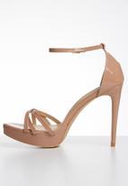 Miss Black - Lerato heels - pink