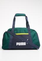 PUMA - Phase sports bag - navy & green