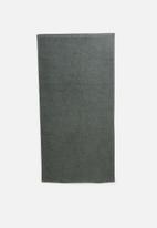 Linen House - Jordan spot bath sheet - asphalt