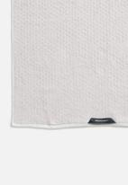 Linen House - Jordan spot bath towel - stone