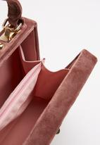 Superbalist - Neve box clutch bag - pink