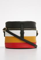 Superbalist - Multi stripe bucket bag - multi