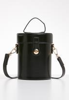 Superbalist - Indya crossbody bucket bag -black