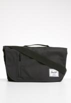 HERSCHEL - Odell messenger bag - black