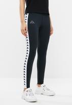 KAPPA - Ladies leggings - black & white