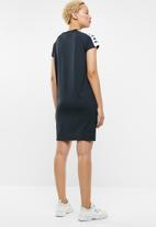 KAPPA - Ladies sleeve dress - black & white
