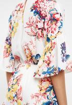 Forever21 - Floral kimono playsuit - multi