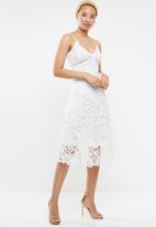 STYLE REPUBLIC - Crochet ladder tea dress - white