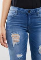 SOVIET - Gina skinny jeans - blue