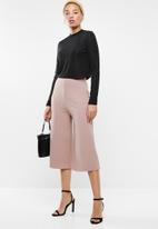 STYLE REPUBLIC - Wide leg culotte - neutral