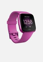 Fitbit - Fitbit versa lite - mulberry aluminium