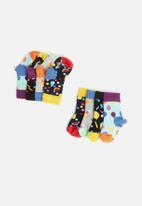 Happy Socks - Infants fruit salad gift box - multi