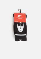 Nike - Socks Air Max crew 2 pack socks - black