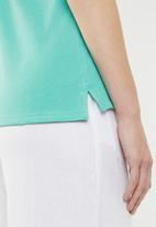 POLO - Charlie Stretch Golfer - turquoise