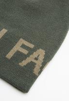 The North Face - Reversible banner beanie - khaki