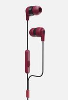 Skullcandy - Inkd in-ear - Red & Black