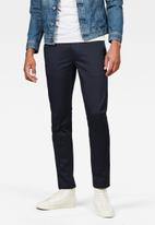 G-Star RAW - Bronson slim chino - navy
