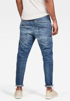 G-Star RAW - D-staq 3d slim fit elto azure superstretch - blue