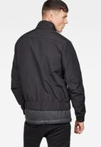 G-Star RAW - Deline track jacket - black