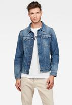 G-Star RAW - 3301 slim fit jacket - blue