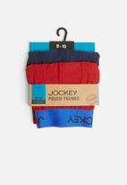 Jockey - Nautical 2 pack trunks - red & navy