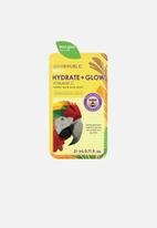 Skin Republic - Hydrate + Glow Vitamin C Parrot Face Mask Sheet