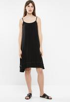 Rip Curl - Sand tassle dress - black