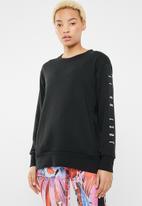 Nike - Nike dry top - black & white