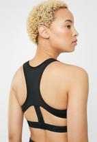 Nike - Nike air swoosh sports bra - black