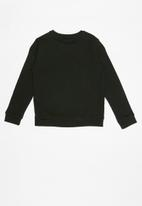 GUESS - Teens long sleeve icon active top - black