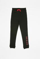 GUESS - Teens icon active pants - black