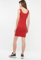 Supré  - Thick strap tank dress - red