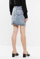 Noisy May - Sophia denim skirt - blue