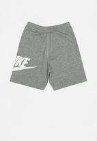 Nike - Nike ya ft alumni shorts - grey