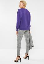 ONLY - Karla o-neck sweat - purple