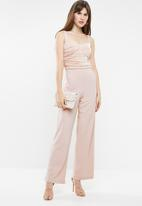 Sissy Boy - Mixed jumpsuit - pink