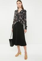 edit - Long sleeve blouse - multi