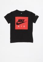 Nike - Nkb nike air box logo short sleeve tee -  black