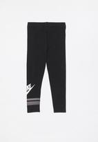 Nike - Nike G NSW favorite futura GX leggings - black